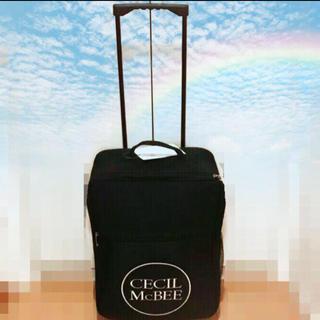 セシルマクビー(CECIL McBEE)のセシルマクビースーツケース(スーツケース/キャリーバッグ)