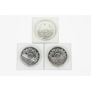 【記念硬貨】昭和61年 在位60年記念10000円銀貨 1万円銀貨 3点セット(貨幣)