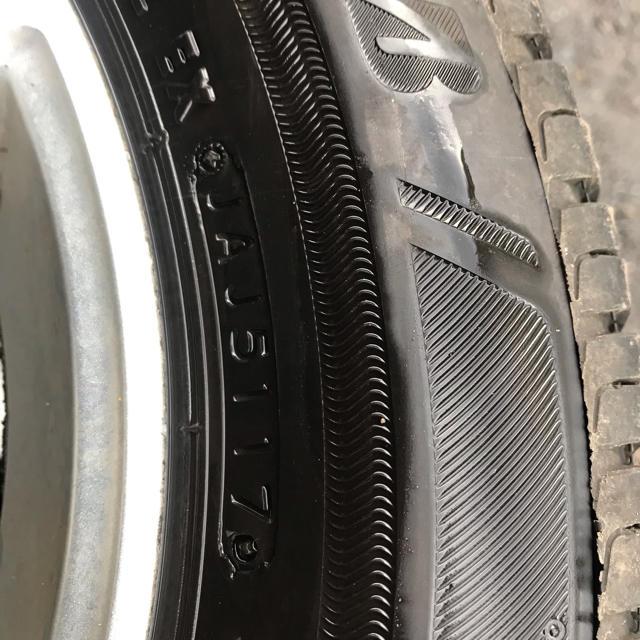 BRIDGESTONE(ブリヂストン)の165/65r13 4本セット 夏タイヤ ブリジストン エコピア NH100C 自動車/バイクの自動車(タイヤ・ホイールセット)の商品写真
