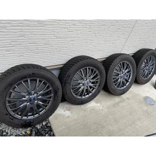 グッドイヤー(Goodyear)のスタッドレスタイヤホイール付き4本セット(タイヤ・ホイールセット)