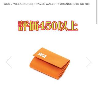 シュプリーム(Supreme)のwds ウォレット オレンジ(折り財布)