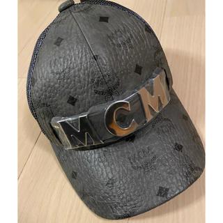 エムシーエム(MCM)のMCM キャップ cap 新品未使用 ロゴプレート レア エムシーエム(キャップ)