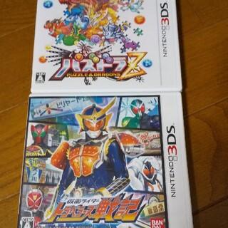 ニンテンドー3DS(ニンテンドー3DS)のパズドラZ 仮面ライダートラベラーズ戦記 3DS(携帯用ゲームソフト)