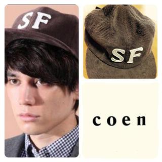 コーエン(coen)のcoen キャップ(キャップ)