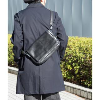 ステュディオス(STUDIOUS)の日本製 STUDIOUS ステュディオス シャイニーレザーミニショルダーバッグ(ショルダーバッグ)