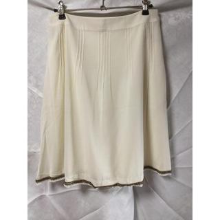 イエーガー(JAEGER)のJAEGER 白スカート(ひざ丈スカート)