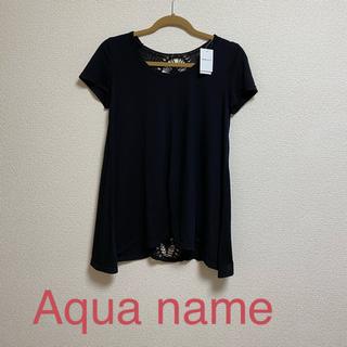 アクアネーム(AquaName)のAqua name トップ(カットソー(半袖/袖なし))