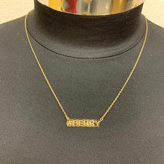 アイリーベリー(Irie Berry)の訳あり◆新品未使用◆irie life ネックレス 「#BERRY」(ネックレス)