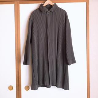 イッセイミヤケ(ISSEY MIYAKE)のhomme  plisse issey miyake コート(ステンカラーコート)