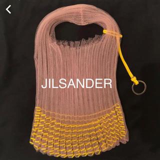 ジルサンダー(Jil Sander)のジルサンダー ニットショルダーバッグ 定価10万 (ハンドバッグ)