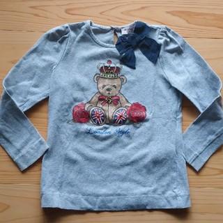 モナリザ(MONNALISA)のMONNALISA 長袖Tシャツ サイズ95(Tシャツ/カットソー)