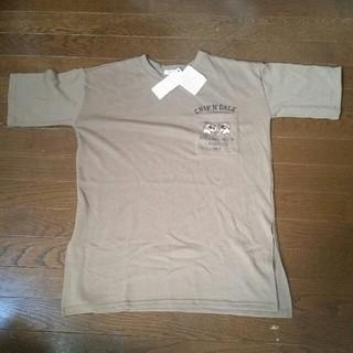 チップアンドデール(チップ&デール)の【ほぼ新品】 Disney チップとデール Tシャツ(Tシャツ(半袖/袖なし))