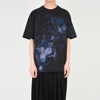 ラッドミュージシャン(LAD MUSICIAN)のラッドミュージシャン 44 青 花柄 19SS 定価15,400円(Tシャツ/カットソー(半袖/袖なし))