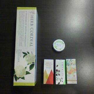 セイカツノキ(生活の木)のハーブコーディアル、エッセンシャルオイル、アロマストーン(エッセンシャルオイル(精油))
