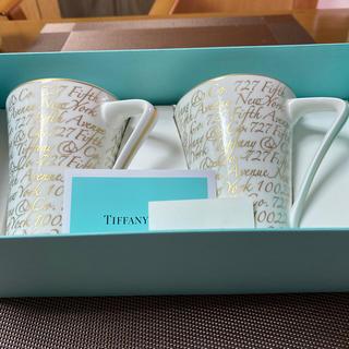 ティファニー(Tiffany & Co.)のティファニーマグカップ2個セット(マグカップ)