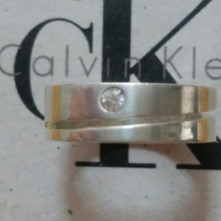カルバンクライン(Calvin Klein)のCalvin Klein(カルバン・クライン) キュービクルジルコニア付リング(リング(指輪))
