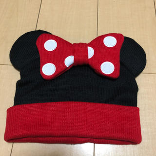 ディズニー(Disney)のTDL ミニー ニット帽 (ニット帽/ビーニー)