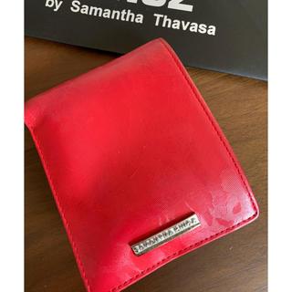 サマンサキングズ(Samantha Kingz)のサマンサキングズ カモフラレッド 二つ折り財布 格安(折り財布)