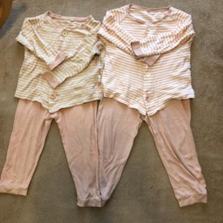 ムジルシリョウヒン(MUJI (無印良品))の無印良品 女の子 子供 パジャマ 90 100  110、110(パジャマ)