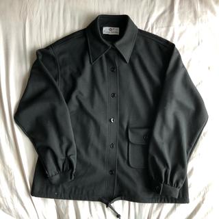 マルタンマルジェラ(Maison Martin Margiela)の80s ショート ブラック ジャケット(カバーオール)