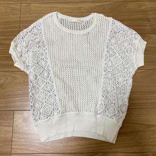 エージーバイアクアガール(AG by aquagirl)の新品未使用!サマーニット(シャツ/ブラウス(半袖/袖なし))