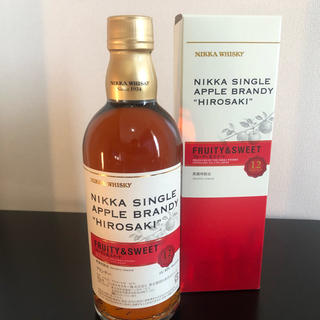 ニッカウイスキー(ニッカウヰスキー)のNIKKA/ニッカ シングルアップルブランデー弘前12年 フルーティ&スイート(ブランデー)