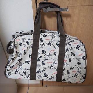 ディズニー(Disney)のミッキー ボストンバック キャリーバック(スーツケース/キャリーバッグ)