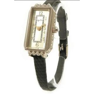 アガット(agete)の本日のみ値下げ! ★人気★アガット レザーベルトウォッチ 腕時計 アンティーク(腕時計)