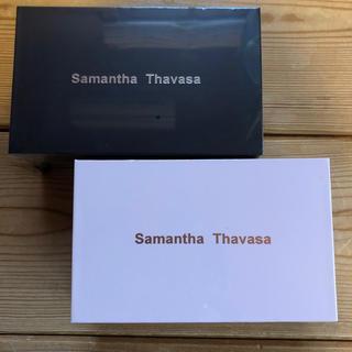 サマンサタバサ(Samantha Thavasa)のサマンサタバサ ワイヤレスイヤホ ブラック&ピンク(ヘッドフォン/イヤフォン)