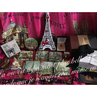 フランス パリ コースター 小物 モナコ 置物 クリスチャンディオール リボン(置物)