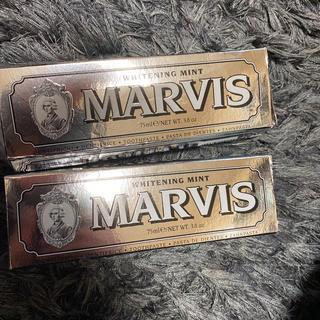マービス(MARVIS)のSTAY HOMEに使えるマービス2箱 歯磨き粉 ホワイトニング(歯磨き粉)