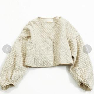 TODAYFUL - トゥデイフル  キルティングペプラムジャケット
