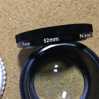 ニコン(Nikon)のNikon polar 52㎜(フィルター)