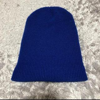 スピンズ(SPINNS)のニット帽 ニットキャップ ビーニー(ニット帽/ビーニー)
