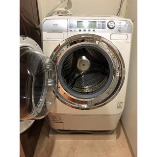 東芝 - Toshiba製 ドラム式洗濯乾燥機 ピュアホワイト まだまだ使えます♡