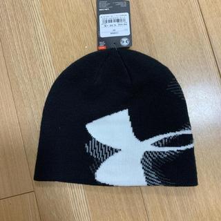 アンダーアーマー(UNDER ARMOUR)のunder armor ニット帽(帽子)