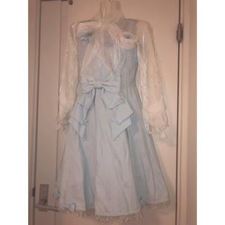 アンジェリックプリティー(Angelic Pretty)のAngelic Pretty アンプリ ジャンパースカート ブラウス セット(セット/コーデ)