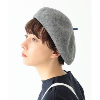 ビームスボーイ(BEAMS BOY)の【美品・帽子】BEAMSBOY ベレー帽(ハンチング/ベレー帽)