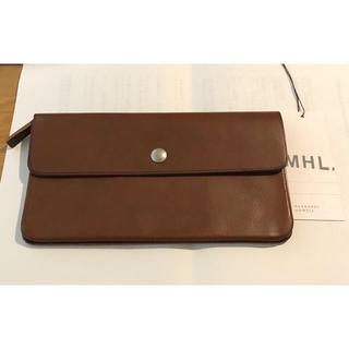 マーガレットハウエル(MARGARET HOWELL)の未使用 MHL レザー長財布 マーガレットハウエル  革(財布)