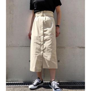 ページボーイ(PAGEBOY)のPAGE BOY/ミリタリーナロースカート(ロングスカート)