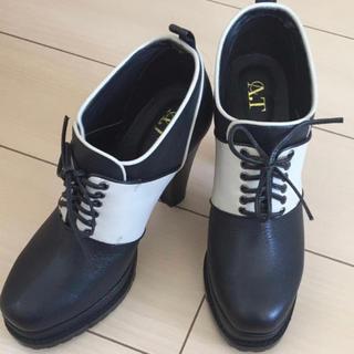イートミー(EATME)のA.T. 靴 厚底 ヒール(ブーツ)