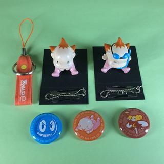 ヤマサ(YAMASA)の山佐 タイムクロス ウィンちゃん フィギュア 缶バッチ(パチンコ/パチスロ)