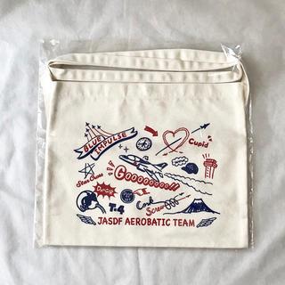 航空自衛隊 ブルーインパルス キャンバス サコッシュ バッグ(その他)