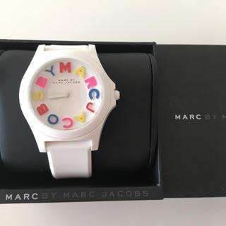 マークバイマークジェイコブス(MARC BY MARC JACOBS)のマークジェイコブス★ホワイトウォッチ!(腕時計)