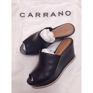 カラーノ(CARRANO)のCARRANO カラーノ サンダル 37(サンダル)