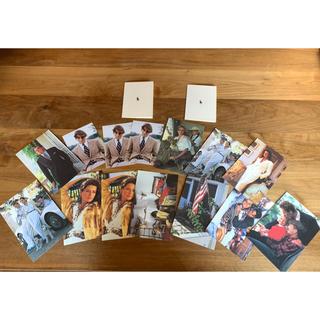ポロラルフローレン(POLO RALPH LAUREN)のラルフローレン   ポストカード 16枚セット(使用済み切手/官製はがき)