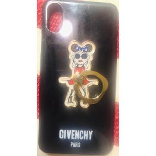 ジバンシィ(GIVENCHY)のGIVENCY iPhoneXケース(リング付)(iPhoneケース)