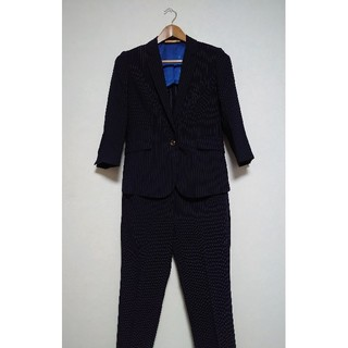 オリヒカ(ORIHICA)の【ORIHICA】ネイビー ストライプ レディース スーツ(スーツ)