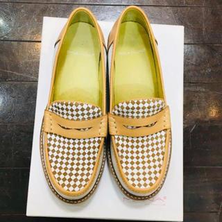 マナラ(maNara)の新品 MANAマナ ローファー 35 レディース(ローファー/革靴)