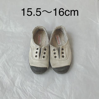 コドモビームス(こどもビームス)のcienta 26 16cm(スニーカー)
